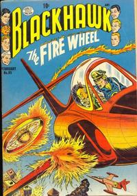 Cover Thumbnail for Blackhawk (Quality Comics, 1944 series) #85