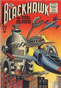 Cover Thumbnail for Blackhawk (Quality Comics, 1944 series) #91