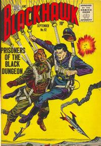 Cover Thumbnail for Blackhawk (Quality Comics, 1944 series) #92