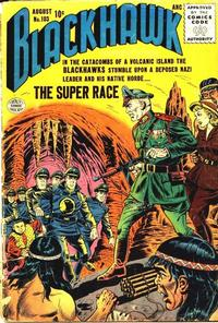 Cover for Blackhawk (Quality Comics, 1944 series) #103