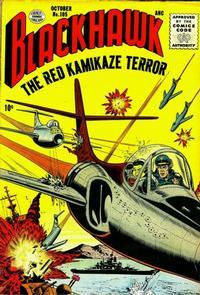 Cover Thumbnail for Blackhawk (Quality Comics, 1944 series) #105