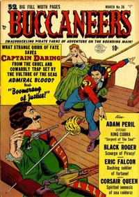 Cover Thumbnail for Buccaneers (Quality Comics, 1950 series) #26