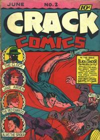 Cover Thumbnail for Crack Comics (Quality Comics, 1940 series) #2