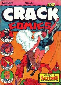 Cover Thumbnail for Crack Comics (Quality Comics, 1940 series) #4
