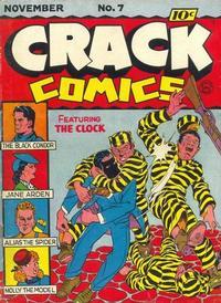 Cover Thumbnail for Crack Comics (Quality Comics, 1940 series) #7