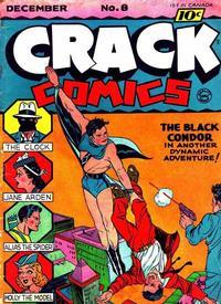 Cover for Crack Comics (Quality Comics, 1940 series) #8