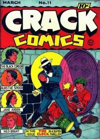 Cover Thumbnail for Crack Comics (Quality Comics, 1940 series) #11