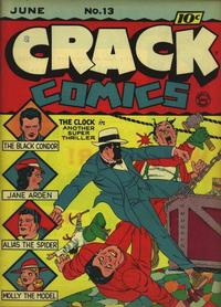 Cover Thumbnail for Crack Comics (Quality Comics, 1940 series) #13