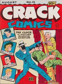 Cover Thumbnail for Crack Comics (Quality Comics, 1940 series) #15