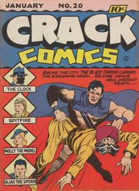 Cover Thumbnail for Crack Comics (Quality Comics, 1940 series) #20