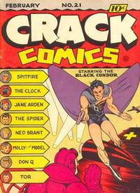 Cover Thumbnail for Crack Comics (Quality Comics, 1940 series) #21