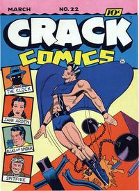 Cover Thumbnail for Crack Comics (Quality Comics, 1940 series) #22