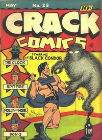 Cover Thumbnail for Crack Comics (Quality Comics, 1940 series) #23