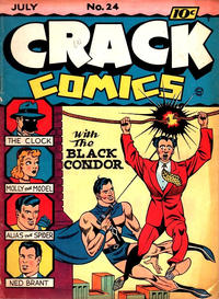 Cover Thumbnail for Crack Comics (Quality Comics, 1940 series) #24