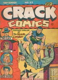 Cover Thumbnail for Crack Comics (Quality Comics, 1940 series) #25