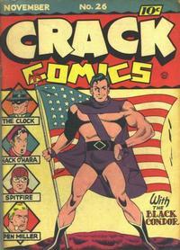 Cover Thumbnail for Crack Comics (Quality Comics, 1940 series) #26
