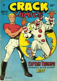 Cover Thumbnail for Crack Comics (Quality Comics, 1940 series) #30