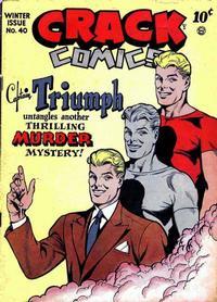 Cover Thumbnail for Crack Comics (Quality Comics, 1940 series) #40