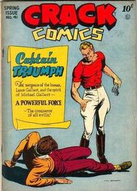 Cover Thumbnail for Crack Comics (Quality Comics, 1940 series) #41