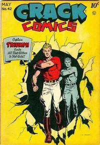 Cover Thumbnail for Crack Comics (Quality Comics, 1940 series) #42