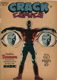 Cover Thumbnail for Crack Comics (Quality Comics, 1940 series) #47