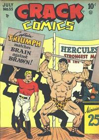 Cover Thumbnail for Crack Comics (Quality Comics, 1940 series) #55