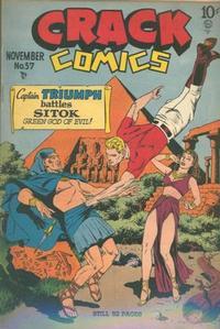 Cover Thumbnail for Crack Comics (Quality Comics, 1940 series) #57