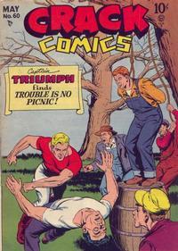Cover Thumbnail for Crack Comics (Quality Comics, 1940 series) #60