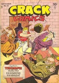 Cover Thumbnail for Crack Comics (Quality Comics, 1940 series) #62