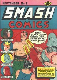 Cover Thumbnail for Smash Comics (Quality Comics, 1939 series) #2
