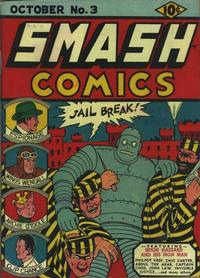 Cover Thumbnail for Smash Comics (Quality Comics, 1939 series) #3