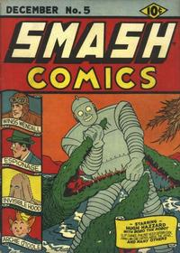 Cover Thumbnail for Smash Comics (Quality Comics, 1939 series) #5