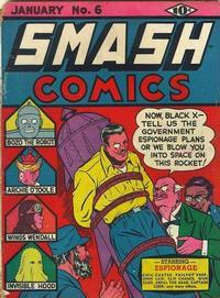 Cover Thumbnail for Smash Comics (Quality Comics, 1939 series) #6