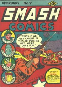 Cover Thumbnail for Smash Comics (Quality Comics, 1939 series) #7