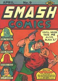 Cover Thumbnail for Smash Comics (Quality Comics, 1939 series) #9