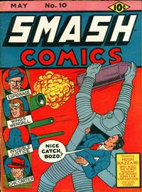 Cover Thumbnail for Smash Comics (Quality Comics, 1939 series) #10