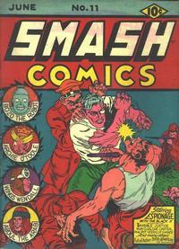 Cover Thumbnail for Smash Comics (Quality Comics, 1939 series) #11
