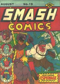 Cover Thumbnail for Smash Comics (Quality Comics, 1939 series) #13