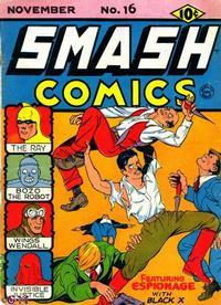 Cover Thumbnail for Smash Comics (Quality Comics, 1939 series) #16