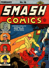 Cover Thumbnail for Smash Comics (Quality Comics, 1939 series) #19