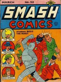 Cover Thumbnail for Smash Comics (Quality Comics, 1939 series) #20