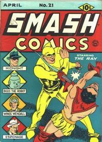 Cover Thumbnail for Smash Comics (Quality Comics, 1939 series) #21