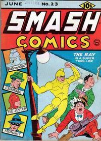 Cover Thumbnail for Smash Comics (Quality Comics, 1939 series) #23