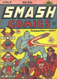 Cover Thumbnail for Smash Comics (Quality Comics, 1939 series) #24