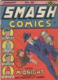 Cover Thumbnail for Smash Comics (Quality Comics, 1939 series) #30