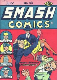 Cover Thumbnail for Smash Comics (Quality Comics, 1939 series) #34