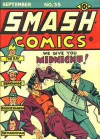 Cover Thumbnail for Smash Comics (Quality Comics, 1939 series) #35