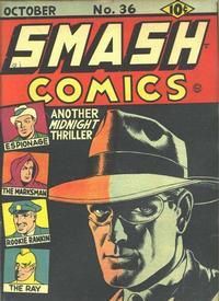 Cover Thumbnail for Smash Comics (Quality Comics, 1939 series) #36