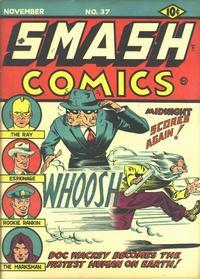 Cover Thumbnail for Smash Comics (Quality Comics, 1939 series) #37