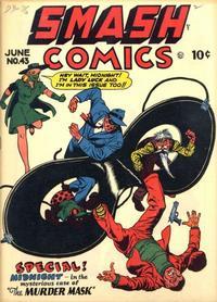 Cover Thumbnail for Smash Comics (Quality Comics, 1939 series) #43